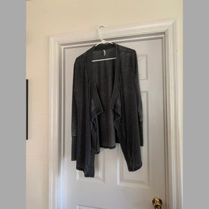 Z supply wrap cardigan sweatshirt